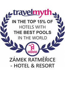 Zámek Ratměřice – in the Top 15% of Hotels with the Best Pools in the World (by TravelMyth)